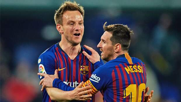 Гол Ракитича помог «Севилье» обыграть «Барселону» в первом матче полуфинала Кубка Испании