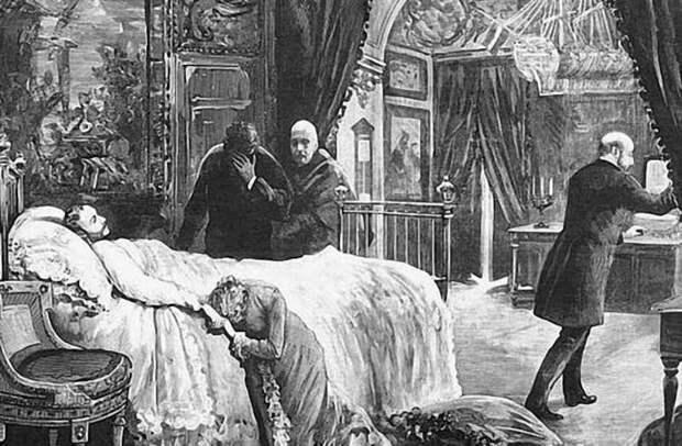 смерть монарха