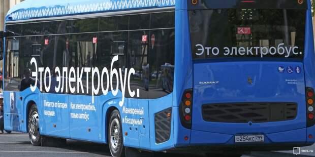 Следующий через Ростокино маршрут №33 стал электробусным