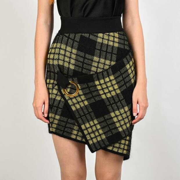 Креативная юбка Balmain