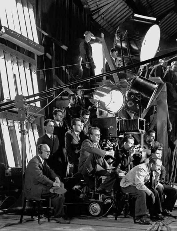 Как создаётся кино: архивные кадры со съёмок советских фильмов