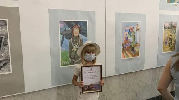 Лучшая из лучших: художница из Симферополя – призер республиканского конкурса