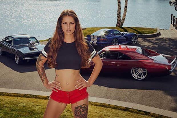Календарь Miss Tuning 2019: масл-кары и знойная красота
