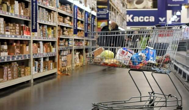 В Москве человек с топором напал на посетителей супермаркета