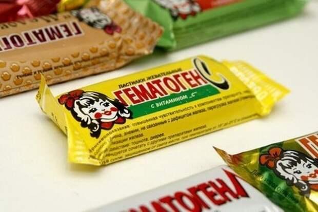 Детей в СССР приучали к кровавым сладостям: американцы в шоке СССР, гематоген, железо, здоровые, конфета, кровь, медик, россия