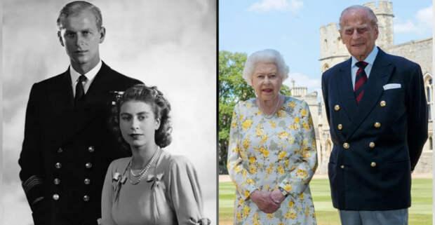 Плохая примета на свадьбу и помолвка в тайне от всех: 5 интересных фактов о любви королевы Елизаветы и Филиппа,  брак которых длится уже 73 года