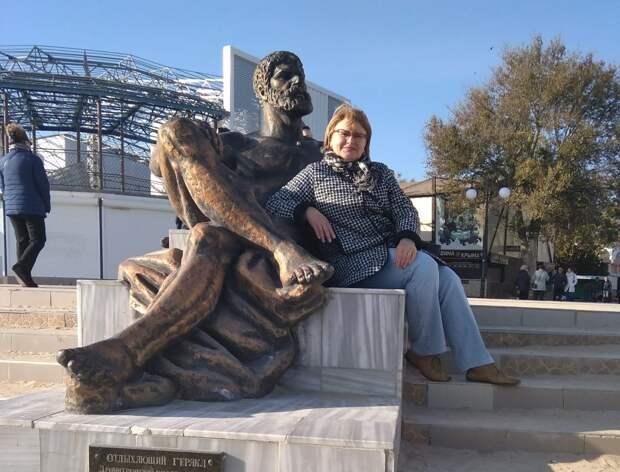 Нина Каширина в Крыму / Фото из личного архива