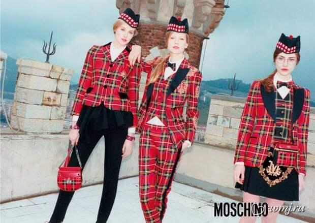 Рекламная кампания Moschino, осень-зима 2013/2014