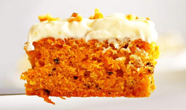 Тыквенный пирог со сливочным кремом