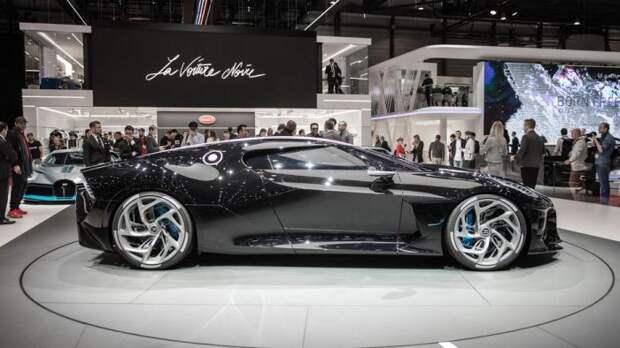 Bugatti La Voiture Noire – самый дорогой автомобиль в мире.   Фото: cnet.com.