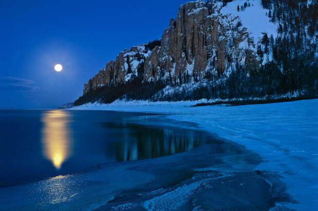 Река Лена, фотография