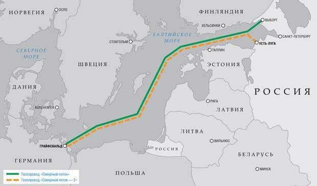 """Стало известно о тайном решении Германии по """"Северному потоку-2"""""""
