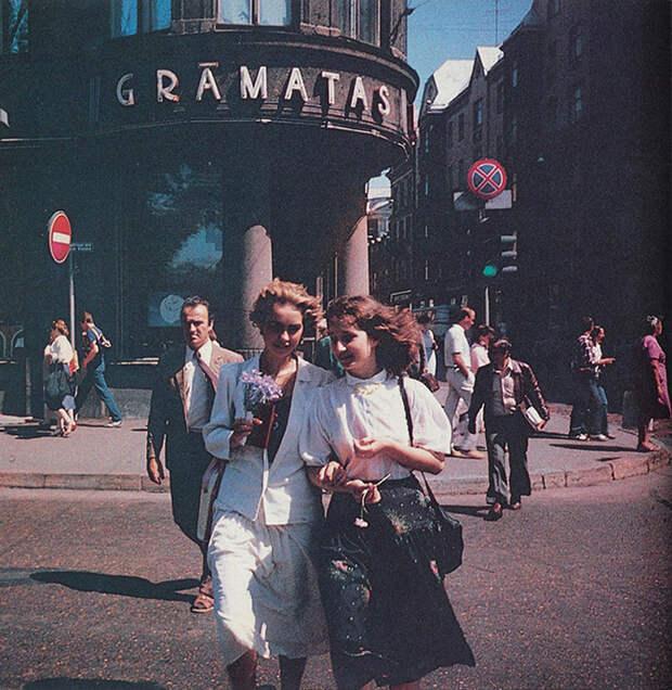 Как выглядела Рига 30 лет назад