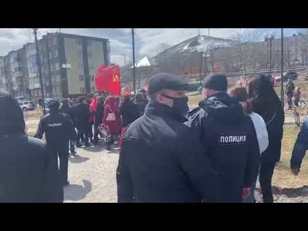 В Парке Победы на Камчатке горожан задерживали за нарушение режима изоляции