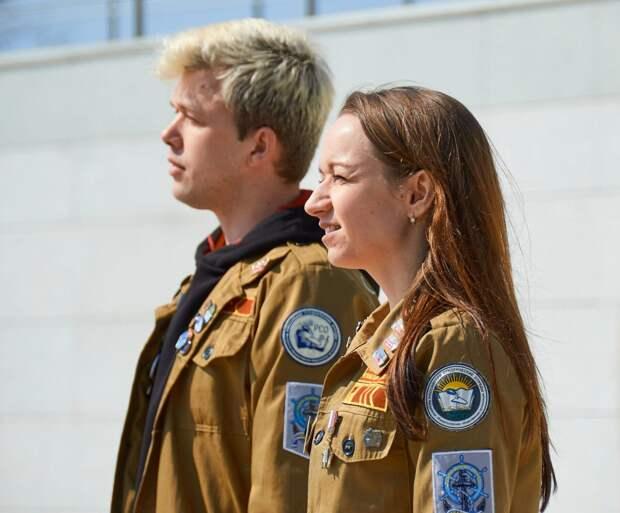 Студотряды Севастополя отпраздновали шестилетие и дали старт «Десанту Победы»