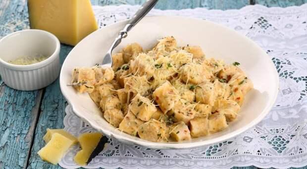 Рецепты по четвергам. Клёцки, ньокки, галушки, вареники. Несладкие ленивые вареники (2)