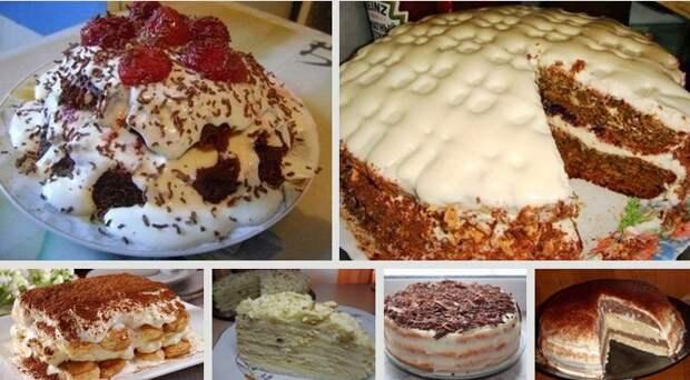 простые тортики (667x369, 650Kb)