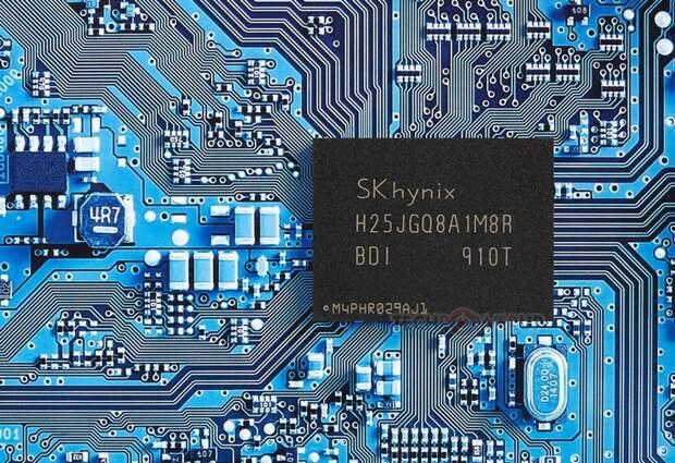 SK Hynix начала производство микросхем 4D QLC NAND объёмом 1 Тбит