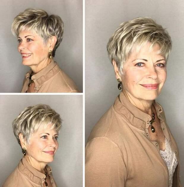 6 стрижек для тонких волос, которые подойдут женщине 60+