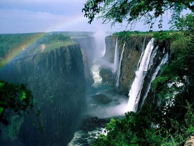 Река Замбези, фотография