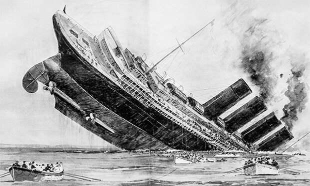 """Последний рейс лайнера """"Луизитания"""": удивительные судьбы пассажиров и капитана"""