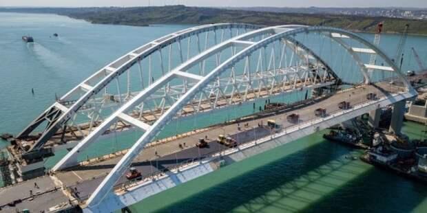 «Крымский мост» опубликовал панорамный вид