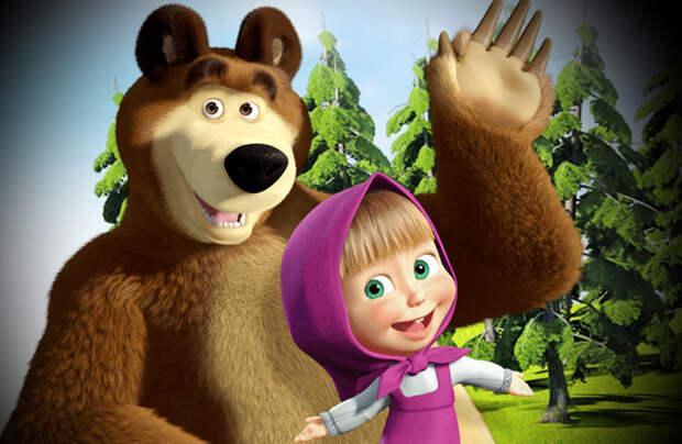 """Литовец увидел пропаганду в мультике """"Маша и медведь"""""""
