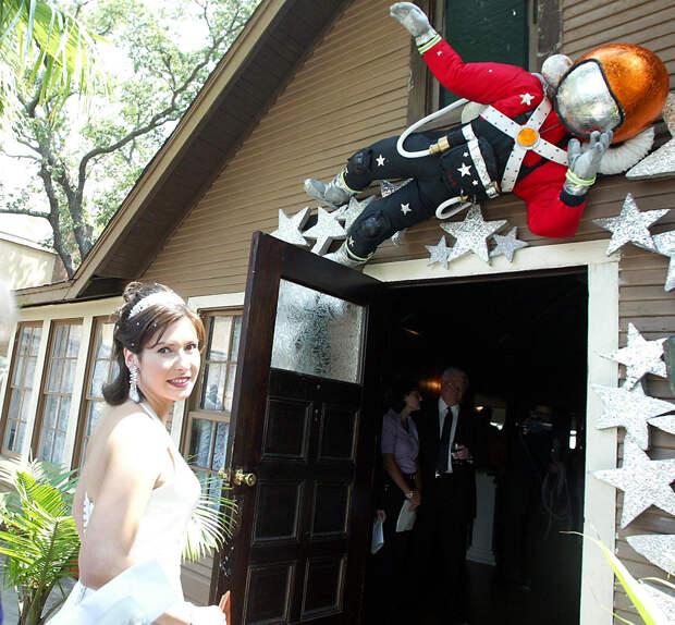 Чем закончилась единственная свадьба в КОСМОСЕ?