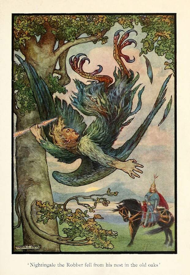 Русская книга сказок от англичанина (16 иллюстраций)