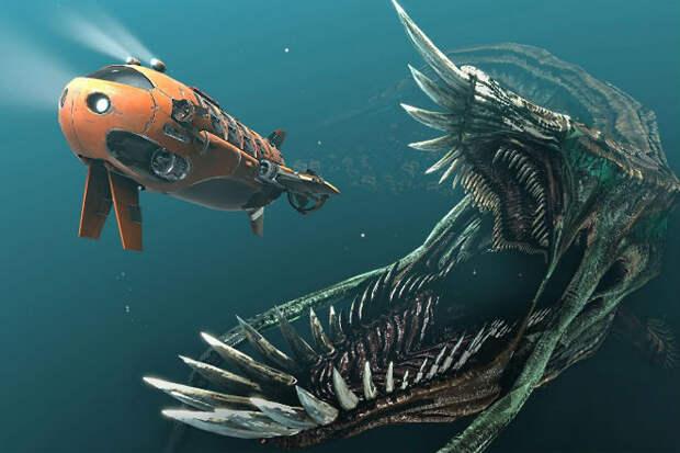 Самые большие подводные монстры в истории Земли