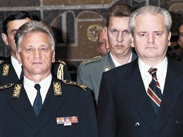 Югославский генерал сдал ЦРУ Слободана Милошевича