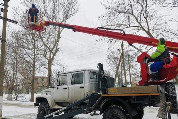 В Краснодаре устранили 18 аварий на электросетях