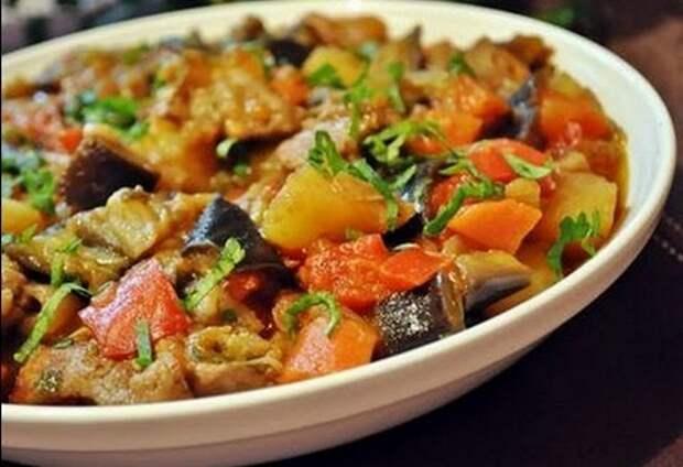 как сделать овощное рагу в духовке