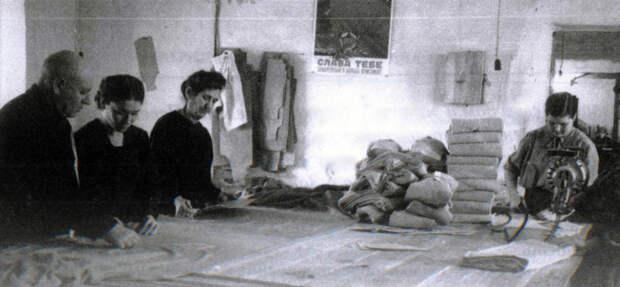 Цех Аламединской трикотажной фабрики