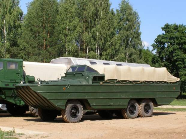Советская тяжелая амфибия ЗИС-485 БАВ.   Фото: gvtm.ru.