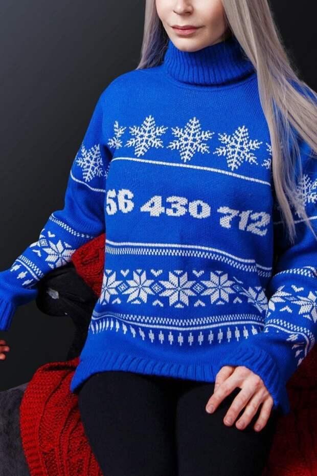 Странные рождественские свитера (подборка)