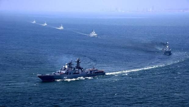Королевский флот Великобритании зафиксировал активность российских военных кораблей в Ла-Манше
