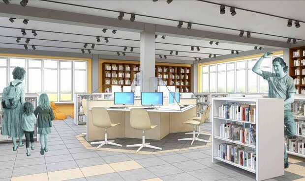 Модульную библиотеку начали создаватьв Усолье-Сибирском
