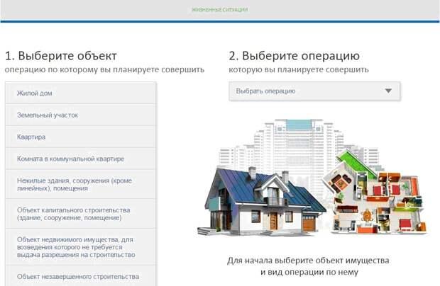 Кадастровая палата по Москве рекомендует  использовать сервис Росреестра «Жизненные ситуации»  для совершения сделок с недвижимостью