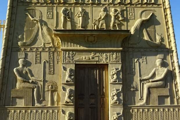 Египетские ворота в Царском Селе: история, сюжеты, значение (2)