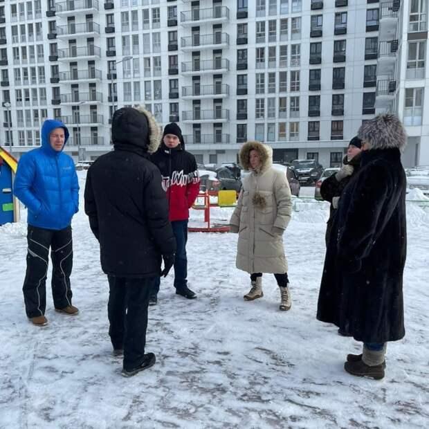 Глава управы района Северный проверила состояние двора на Дмитровке