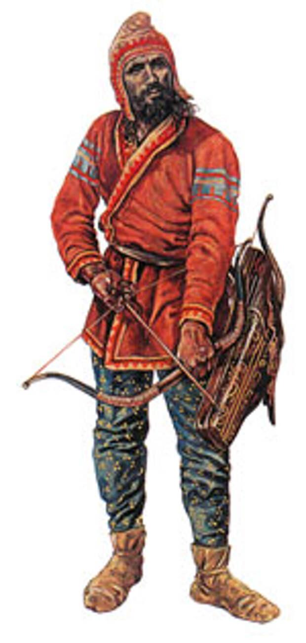 Скифский лучник