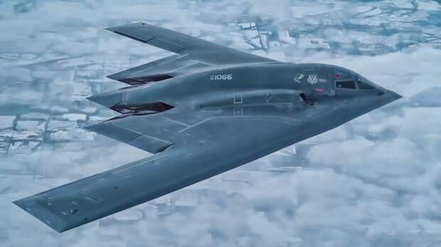 Американские самолеты-невидимки в Арктике