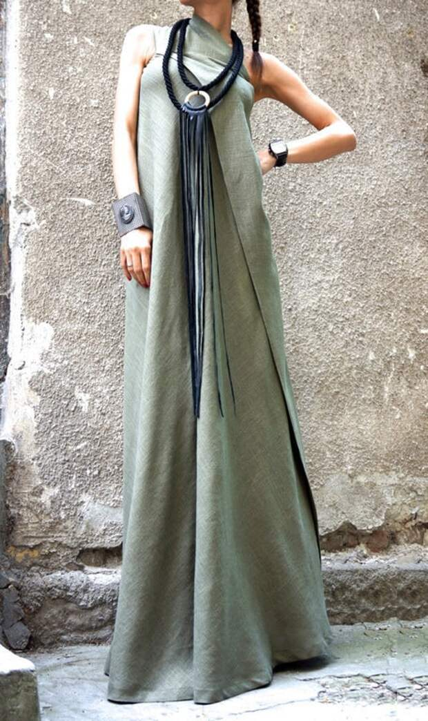 Платья и сарафаны из льна — натуральная одежда с заботой о коже