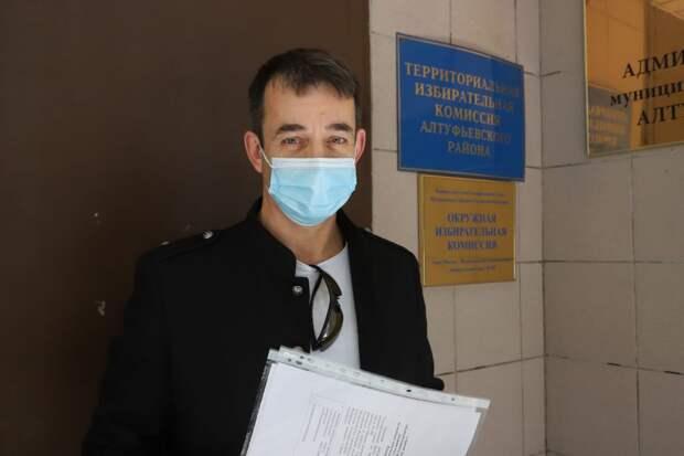 Дмитрий Певцов подал документы на выдвижение в Государственную Думу. Фото: Кирилл Журавок