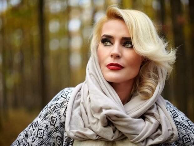 красивая зрелая женщина блондинка