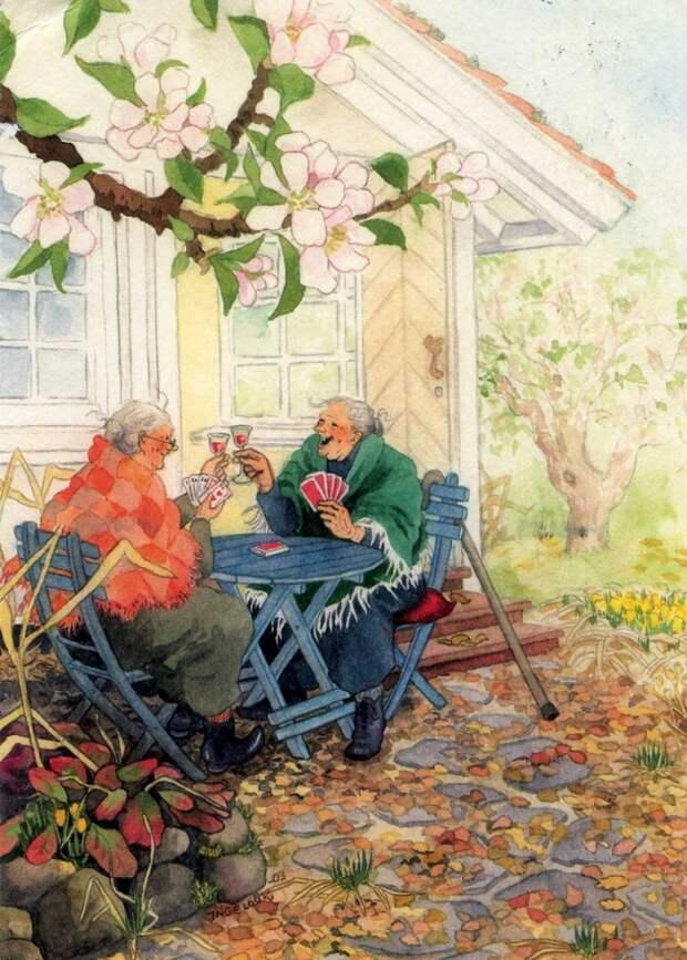 Веселые и задорные старушки!