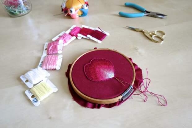 Вышивка на пяльцах (трафик)