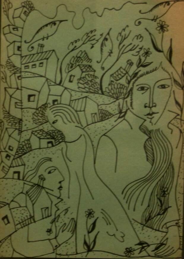 Рисунки поэтов.