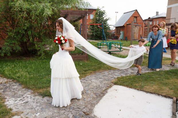 Cвадебные платья силуэта «русалка» стали популярны в Новосибирске